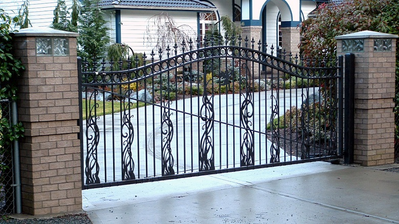 download-steel-fencing-designs-garden-design-within-metal-fence-prepare-8